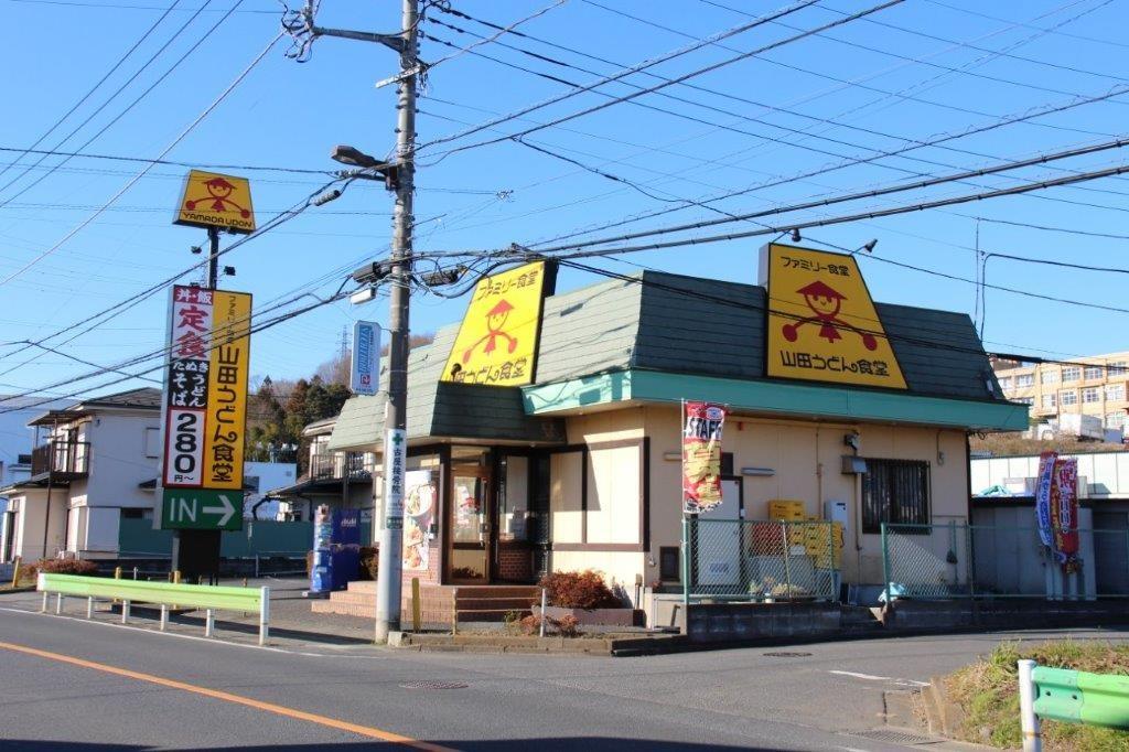 滝山街道店。店舗全景。